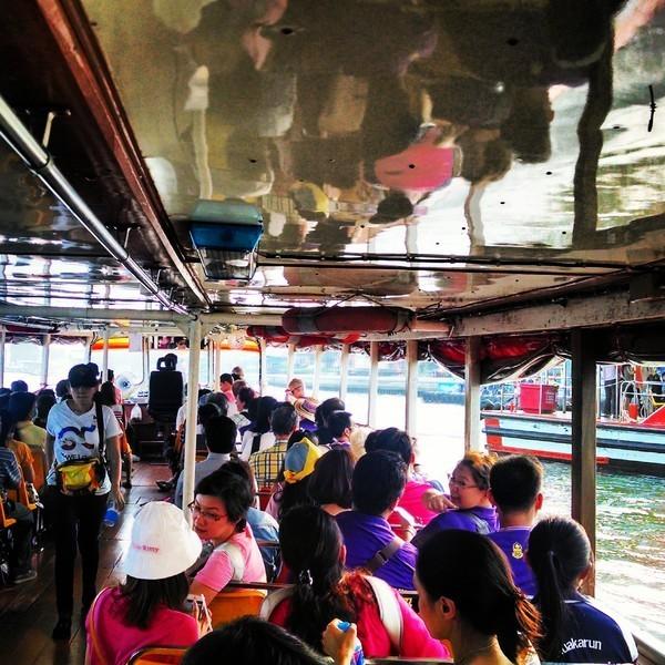 Embarcacao utilizada como transporte publico