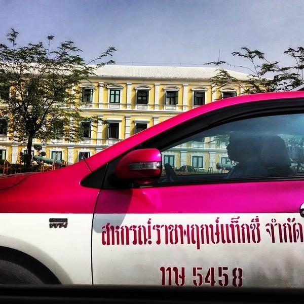 Taxi em Bagkok