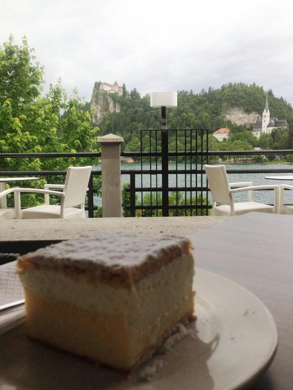 Kremsnita Lago Bled, Eslovenia, Europa